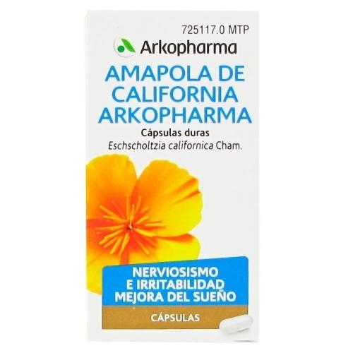 AMAPOLA DE CALIFORNIA ARKOPHARMA CAPSULAS DURAS , 45 cápsulas