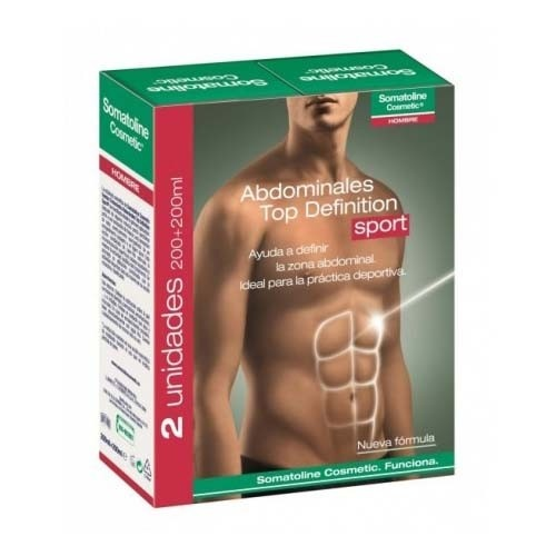 Somatoline cosmetic hombre top definition - tto abdominales sport cool (200 ml 2 u)