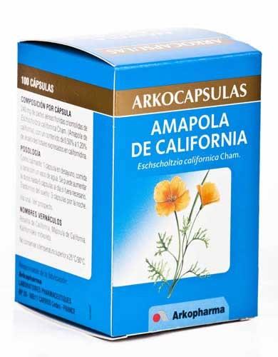 Arkocapsulas amapola californ 100c