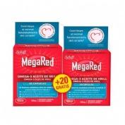 Megared 500 omega 3 aceite de krill (envase duplo 60 + 20 caps)