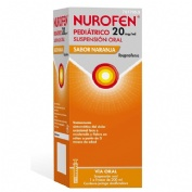 NUROFEN PEDIATRICO  20 MG/ML SUSPENSION ORAL SABOR NARANJA 1 frasco de 200 ml