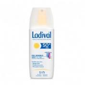 Ladival piel sensible alergica fps 50+ gel-spray - fotoproteccion muy alta (150 ml)