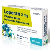 LOPERAN 2 mg CAPSULAS DURAS , 20 cápsulas