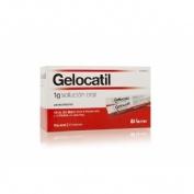 GELOCATIL 1 g SOLUCION ORAL,10 sobres