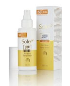 BOOTS LABORATORIES SUN CARE SOLEISP SPRAY SOLAR