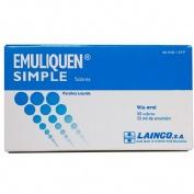 EMULIQUEN SIMPLE 7.173,9 mg EMULSION ORAL EN SOBRES , 10 sobres de 15 ml