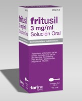 FRITUSIL 3 mg/ml SOLUCION ORAL , 1 frasco de 150 ml