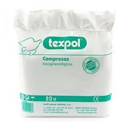 Compresas higienicas femeninas - texpol (20 u)