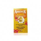 Arkovox propolis + vitamina c comp masticables (24 comp sabor frambuesa)